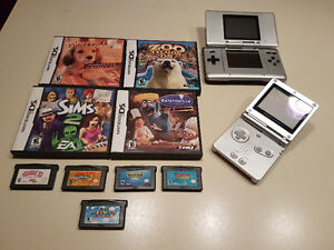 Nintendo DS et GameBoy Advance SP