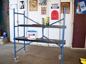 Drywall / painting scaffolding  SOLD - SOLD - SOLD