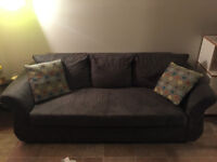 Apartment size couch and love seat