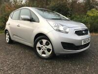 *12 MTHS WARRANTY*2013(13)KIA VENGA 1.4 TD DIESEL 2 5DR WITH ONLY 64K FSH*