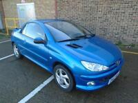 PEUGEOT 206CC HARD TOP CONVERTIBLE ONLY 40,000 MILES