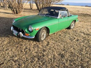 3100$ SAFTIED MGB CONVERTIBLE