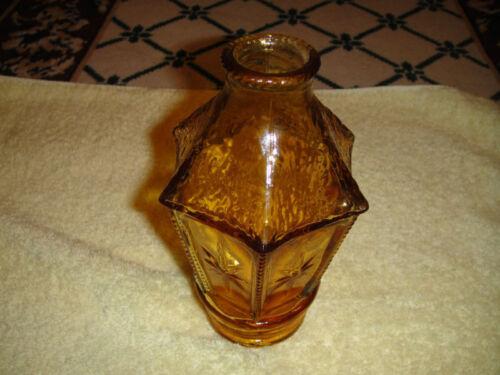 Wheaton Glass Company New Jersey - Lantern - Amber