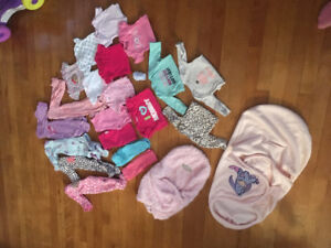 Nb baby girl clothes!!! Great condition!!