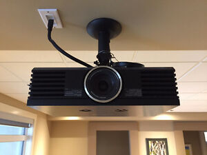 Panasonic PT-AE4000U LCD projector with ceiling mount