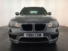 2012 BMW X1 XDRIVE18D M SPORT ESTATE DIESEL 143 BHP FINANCE PART EXCHANGE