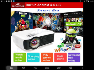 New Android projector for sale