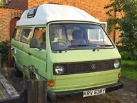 T25 VW Campervan Rare Air-cooled Automatic