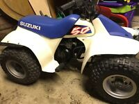 Suzuki lt50 quad , child's , mx , pw, buzz ,