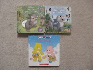 Disney Bunnies Thumper/Care Bears Hardcover Books