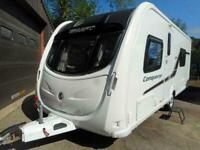 2014 Swift Conqueror 570 - 4 Berth Touring Carvaan