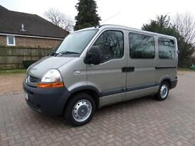 Renault Master 5 Seat Ricon Lift Wheelchair Disabled Accessible Minibus WAV