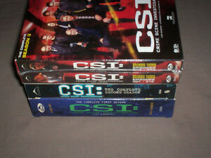 CSI COMPLETE DVD BOX SETS SEASONS 1, 2 & 3 ONE IS FACTORY SEALED