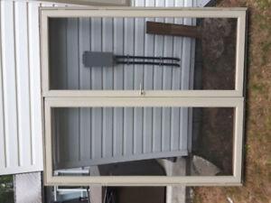 6' double garden doors