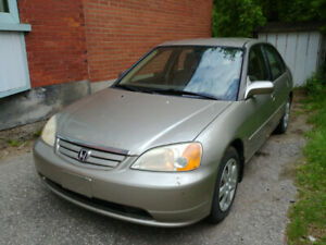 2003 Honda Civic (being sold as is)