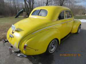 1940 Mercury Eight Coupe + custom built Chassis