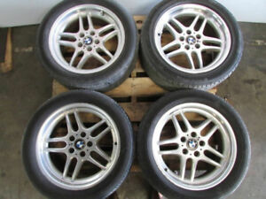 BMW E38 M Parallel wheels
