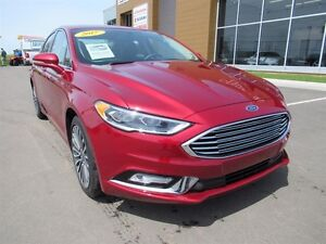 Ford Fusion SE AWD Navigation Leather Backup Camera 2017