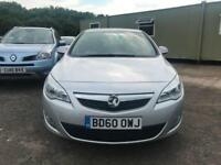 2010 60 Vauxhall/Opel Astra 1.7CDTi 16v ( 110ps ) ecoFLEX 2010MY Exclusiv