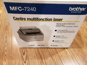 Mfc 7240 brother printer for super cheap