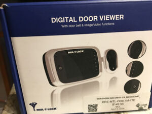 Estate.Digital Door Viewer with door bell & image/video function