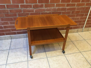Mid Century Teak Bar Cart  - Free Delivery!