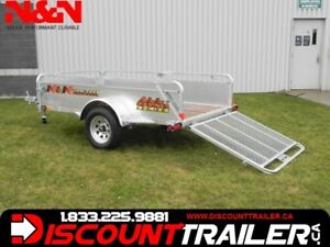 2018 N&N UTILITY 54 X 99 DROP FRONT PANEL  4 .6 X 8 .3 FT TILT