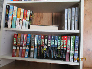 CSI paperback books