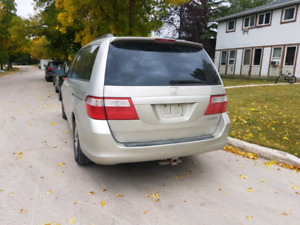 2005 honda odyssey new safety clean title