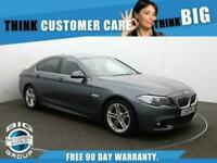 2015 BMW 5 Series 520D M SPORT Auto Saloon Diesel Automatic