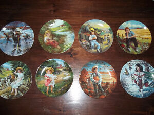 Collector Plate Series of `8`