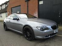 BMW 630 3.0 M SPORT AUTOMATIC SAT NAV FULL LEATHER IMMACULATE CONDITION