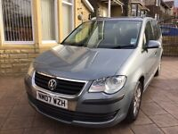 2007 Volkswagen Touran 1.6 S 1 Owner Service History Perfect Drive 7 Seater New Tyres P/Ex Welcome