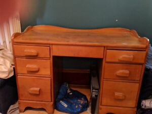 Solid hardwood desk for sale