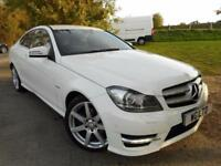 2011 Mercedes Benz C Class C220 CDI BlueEFFICIENCY AMG Sport Edition 125 2dr ...