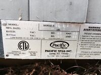 CHEAP want gone - 2006 pacific hot tub