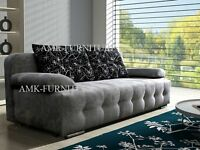 New lovely 3 seater sofa bed ALICE amk sofa bed with storage,double bed,kanapa,wersalka,polskie sofy