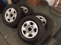 "!!! MINT 18"" Tundra Tires & Rims !!!"