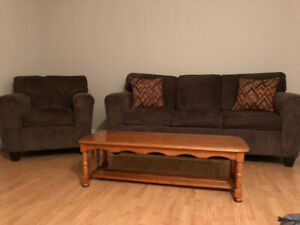 Couch & Chair Set (Extra: Coffee Table)