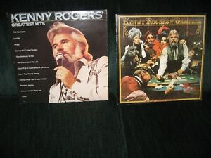 2 kenny rogers vinyllp  albums still in covers