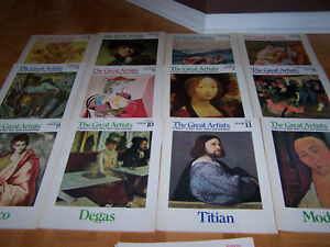 COMPLETE-25-Book-Collection-of-Funk-Wagnalls- THE GREAT ARTISTS