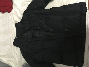 Women's Black Gap Winter Coat