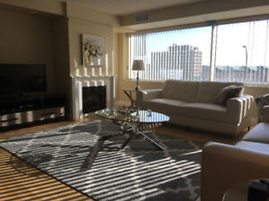 Luxury Furnished Condo: Downtown