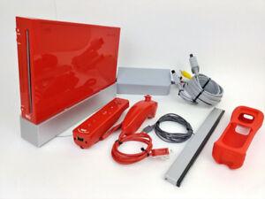 Wii 25th Edition Red - Original Box + Mariokart and Wheels!