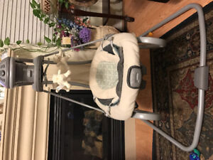 Evenflo safety gate,Graco Duet soothe electric swing