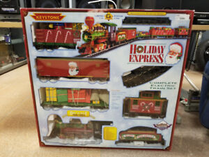 Holiday Express Train Set (Die-Cast)