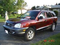 2003 Hyundai Santa Fe GL SUV, Crossover