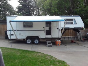 Trade 5th wheel plus cash for cruiser type motorcycle