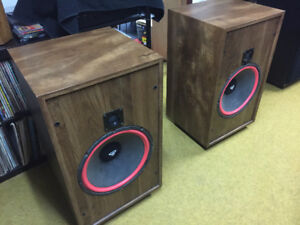 Cerwin Vega U15 Speakers with 15 inch woofers