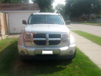 2007 Dodge Nitro SXT SUV,  Manual 6 speed transmission